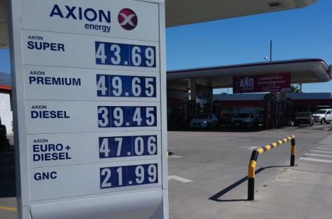 Subió el combustible. Los nuevos precios de la nafta y el gasoil