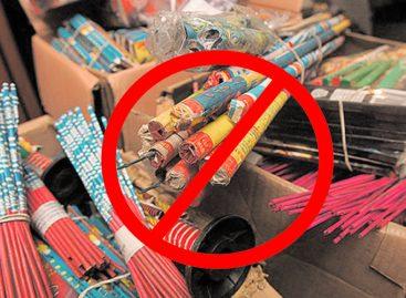 Disputa por la venta de pirotecnia: por ahora sigue prohibida