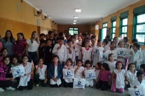 Edelar, con campaña de concientización a niños sobre ahorro de energía