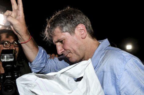 Boudou sale en libertad: excarcelado bajo fianza