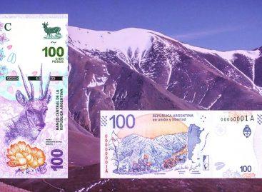Entró en circulación el nuevo billete de $100 con ADN riojano
