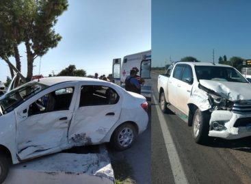 Un choque en ruta 38 involucró al intendente Cristian Pérez