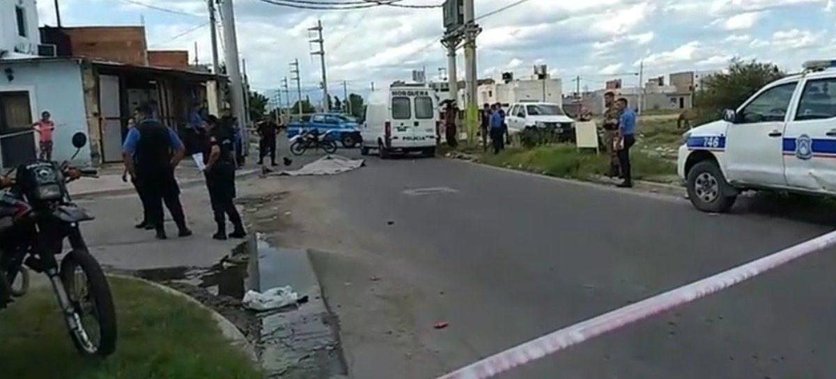 Motociclista chocó contra un colectivo y perdió la vida