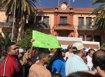 """Para el gobierno, la protesta municipal fue con """"tinte electoral"""""""