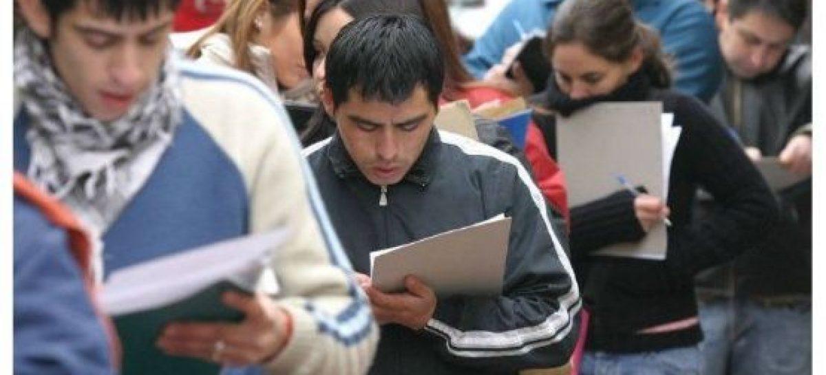 La desocupación a nivel país avanzó a 9% en el tercer trimestre