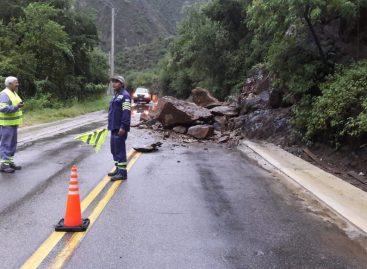 La lluvia provocó inconvenientes en varios puntos de la provincia