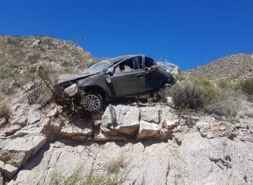 Terrible accidente sobre ruta 78: un herido de gravedad