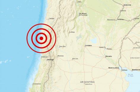Un sismo con epicentro y muertos en Chile sacudió La Rioja