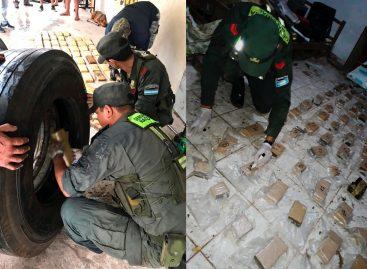 Incautan 68 kilos de marihuana que tenían como destino La Rioja