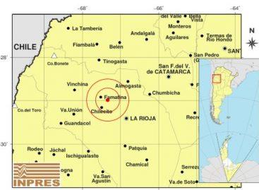 Sismo de 3.2 grados este sábado en La Rioja