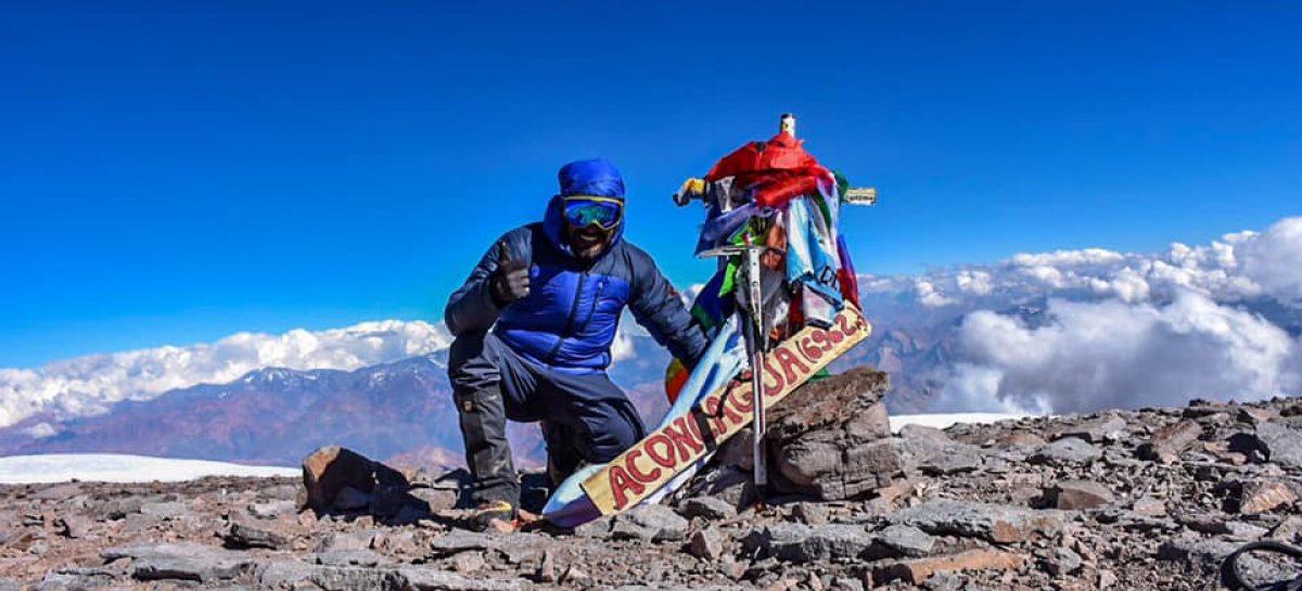 Cracks. Dos riojanos hicieron cumbre en el Aconcagua
