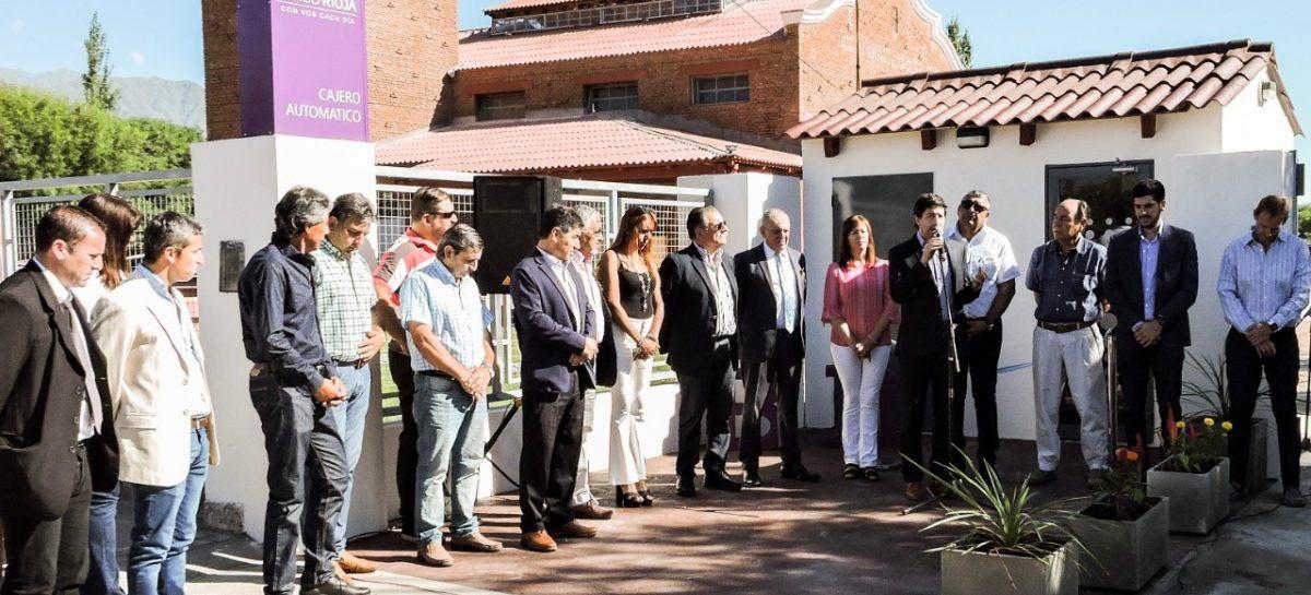 Banco Rioja sigue ampliando su red de cajeros automáticos