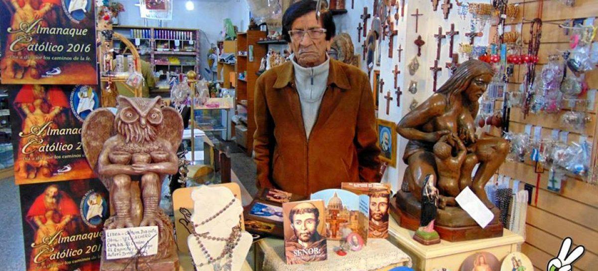 La cultura de luto. Falleció el escultor Dionisio Díaz