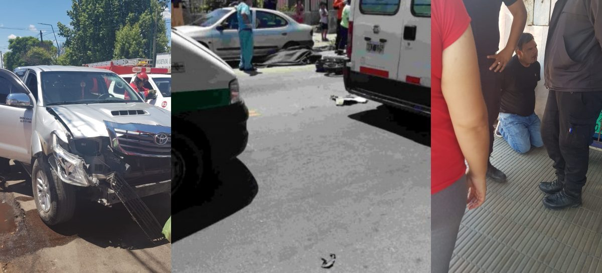 Lograron recuperar el celular de una víctima fatal de accidente vial
