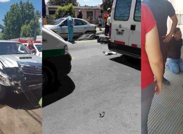 Camioneta embistió dos motos y el saldo es un muerto: lincharon a conductor