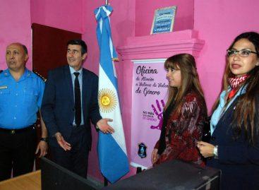 Inauguraron oficina de atención a víctimas de violencia de género