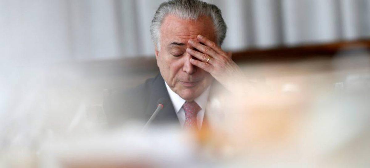 El ex presidente brasileño Michel Temer fue detenido