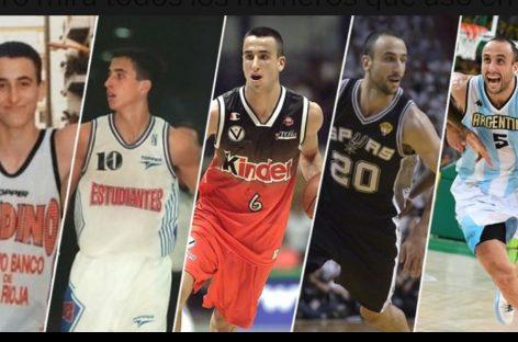 Al mejor estilo San Antonio Spurs, Andino planea retirar la camiseta Nº 6 que usó 'Manu' Ginóbili
