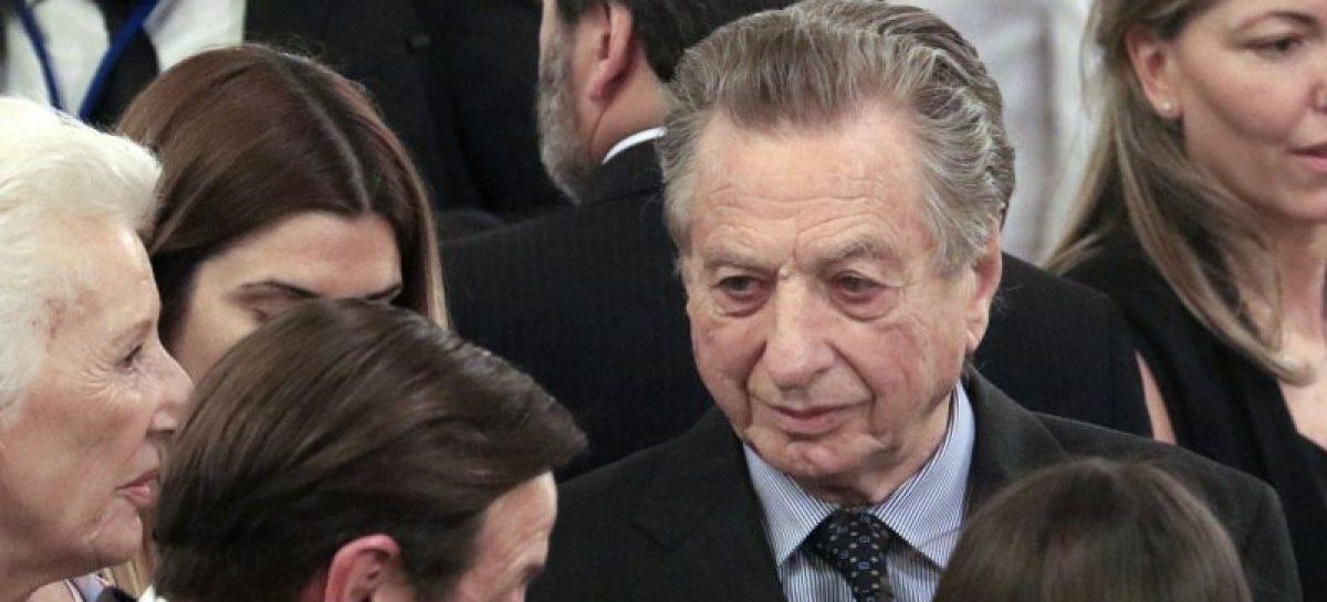A los 88 años falleció Franco Macri