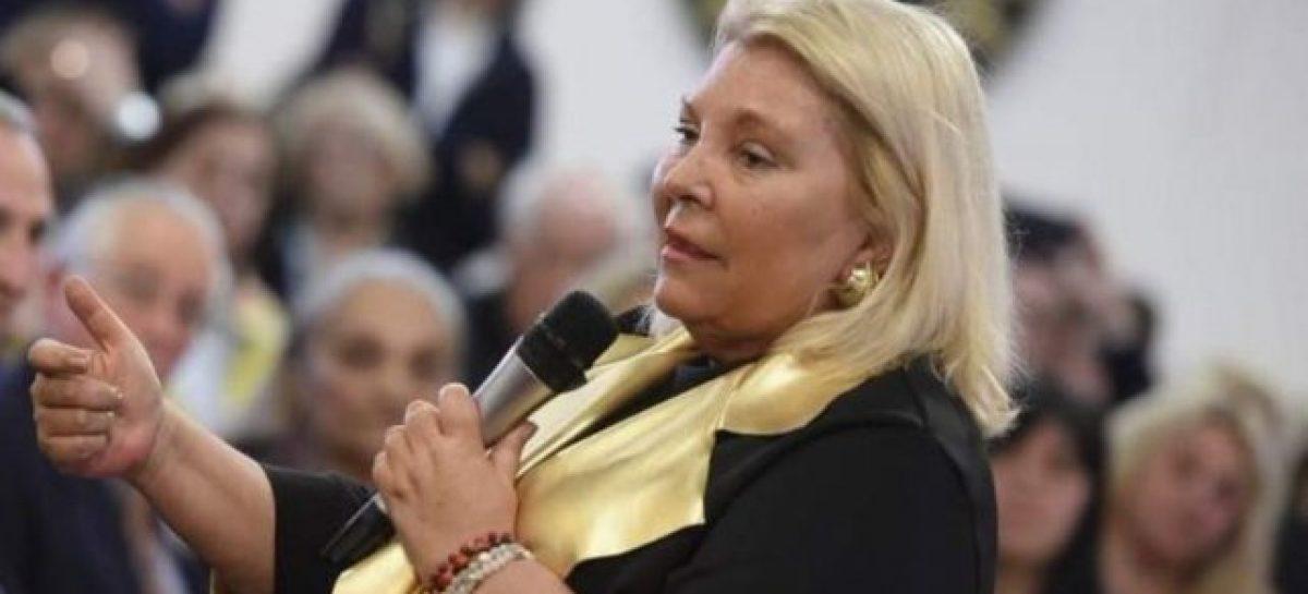 La derrota de Macri jubiló a Elisa Carrio: renunció a su banca