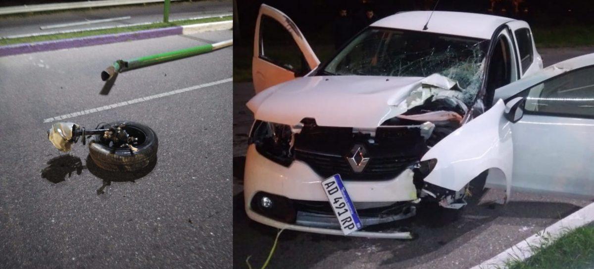 Buscan que automovilistas o sus seguros paguen daños en el Parque de la Ciudad