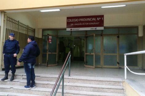 Evacuaron el Colegio Nº1 por una amenaza de bomba