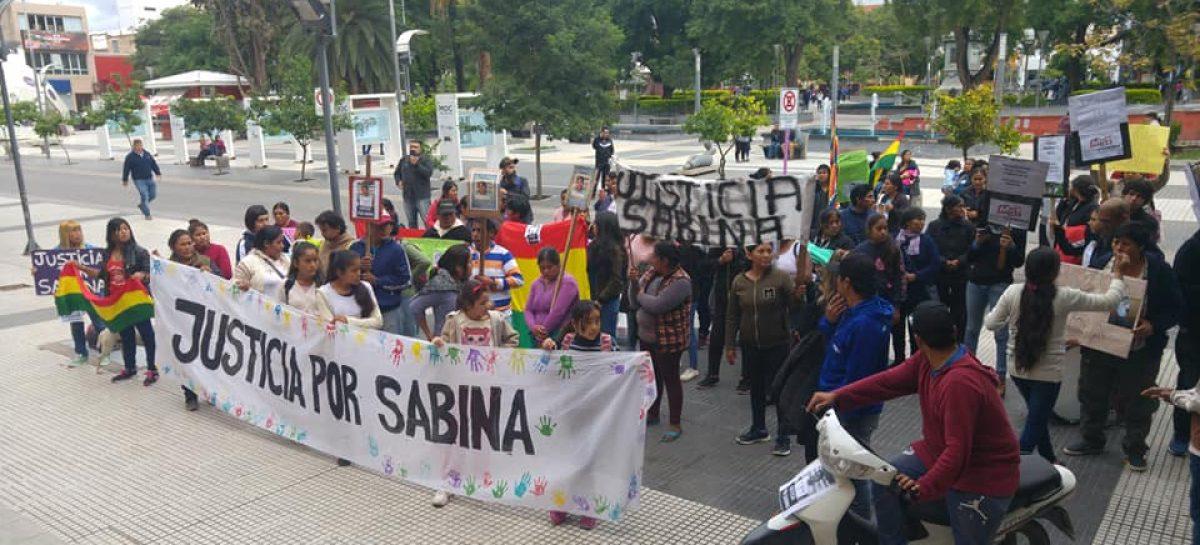 Crimen de Sabina. Familiares y amigos volvieron a reclamar justicia