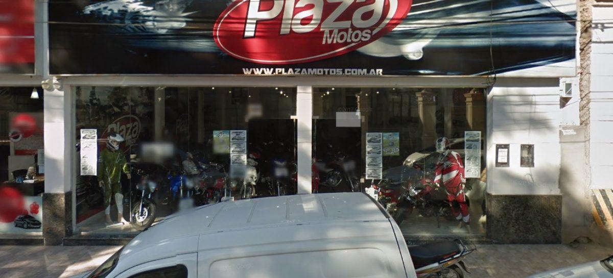 Plaza Motos en crisis: atraso de sueldos y temor a despidos