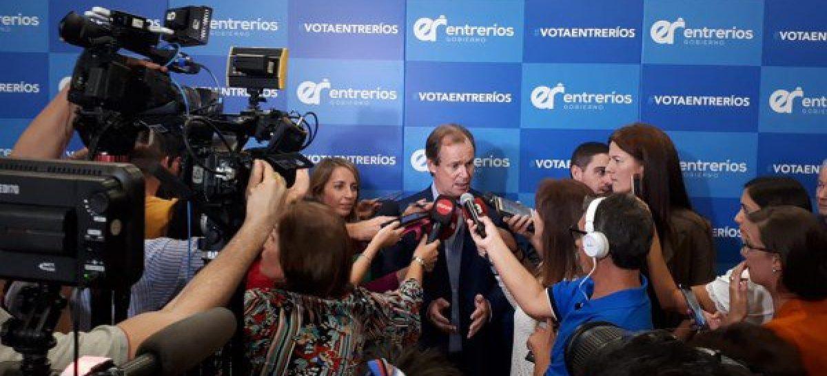 Entre Ríos. Contundente triunfo peronista en las PASO