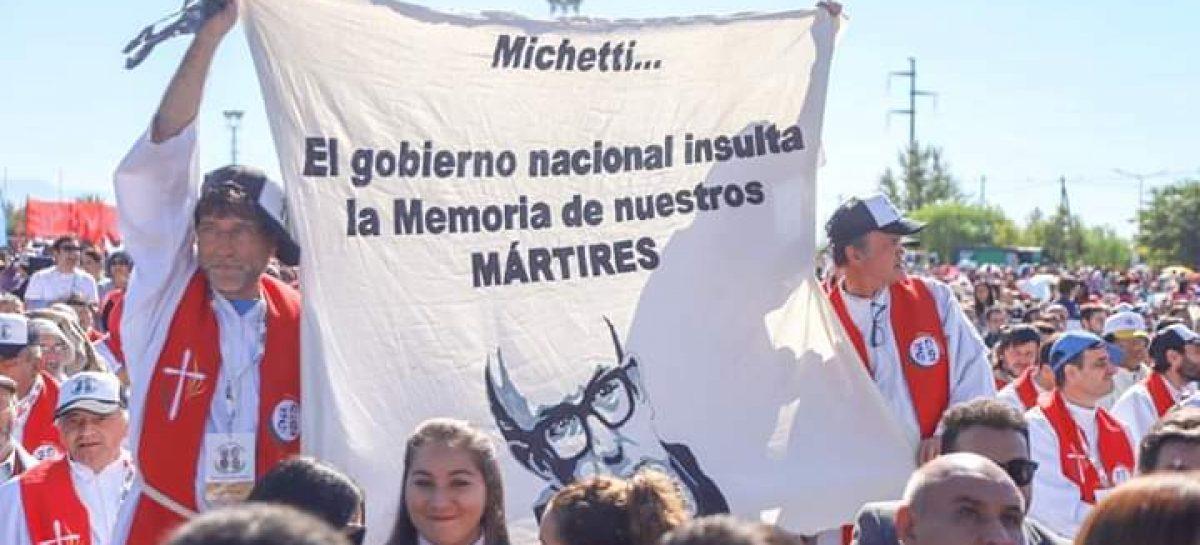 Beatificación de los Mártires. La bandera de la polémica