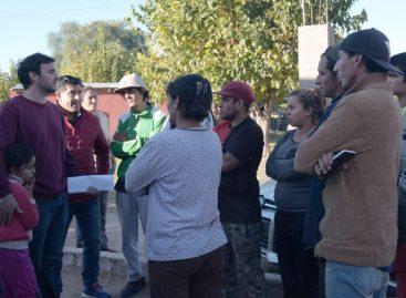 El gobierno refuerza su trabajo de contención en barrios humildes
