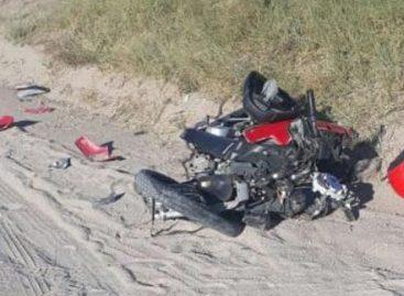 Con 14 años manejaba una moto: fue atropellado y murió