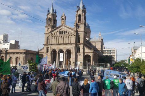El paro nacional se hizo sentir fuerte en La Rioja