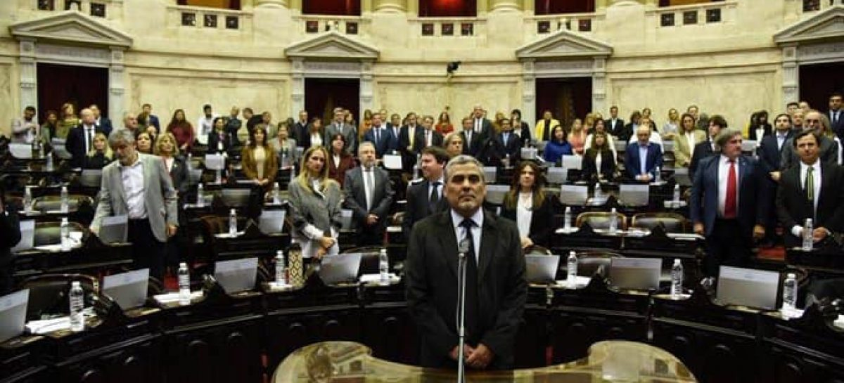 José Luis Moretti asumió como diputado nacional por La Rioja