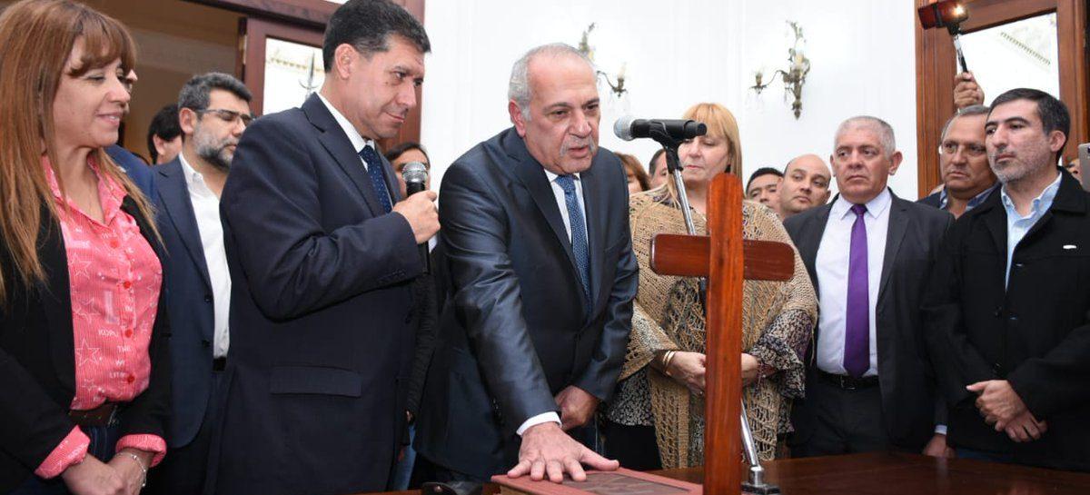 El Ejecutivo tiene nuevo ministro de Gobierno: Héctor Durán Sabas