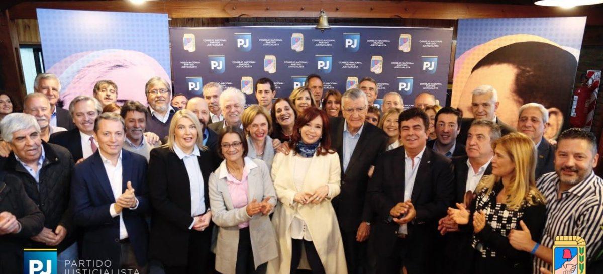 Junto a CFK, el PJ llamó a la unidad del peronismo nacional
