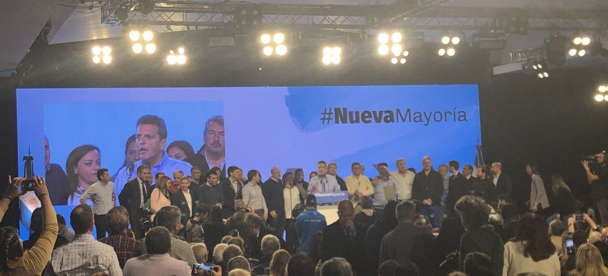 Sergio Massa con luz verde para aliarse al PJ y los K en un frente opositor a Macri
