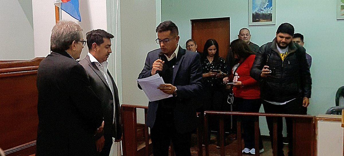 El PJ logró la asunción de Alfredo Menem como edil en el Concejo Deliberante