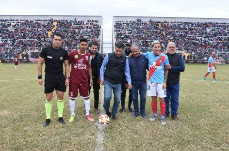 Tras años de obras, se reinauguró el Estadio 'Carlos Augusto Mercado Luna'