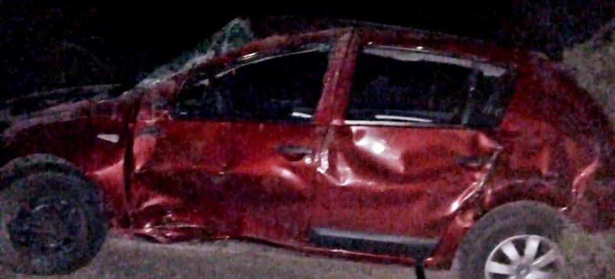 Tragedia. Muere nena de 7 años al volcar un auto