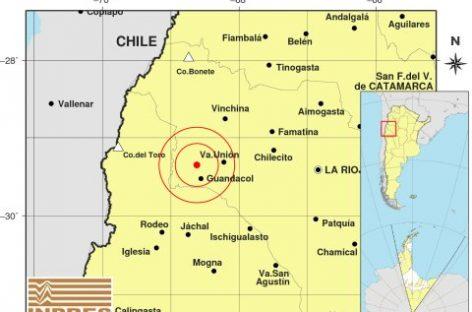 Un nuevo sismo sacudió levemente a La Rioja