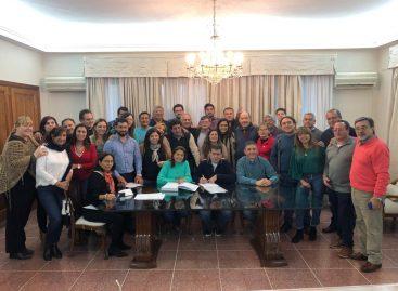 Frente de Todos. Sergio Casas – Hilda Soria – Fabián Calderón, precandidatos a diputado nacional en las PASO