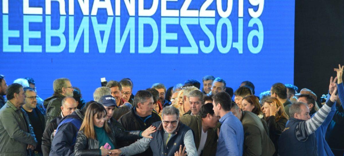 """Beder pidió por la """"unidad"""" del PJ en un acto de apoyo a Fernández-Fernández"""