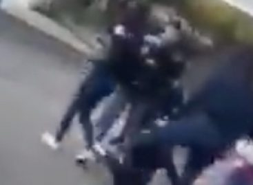 Triste. Feroz pelea de dos alumnas en la EPET Nº2
