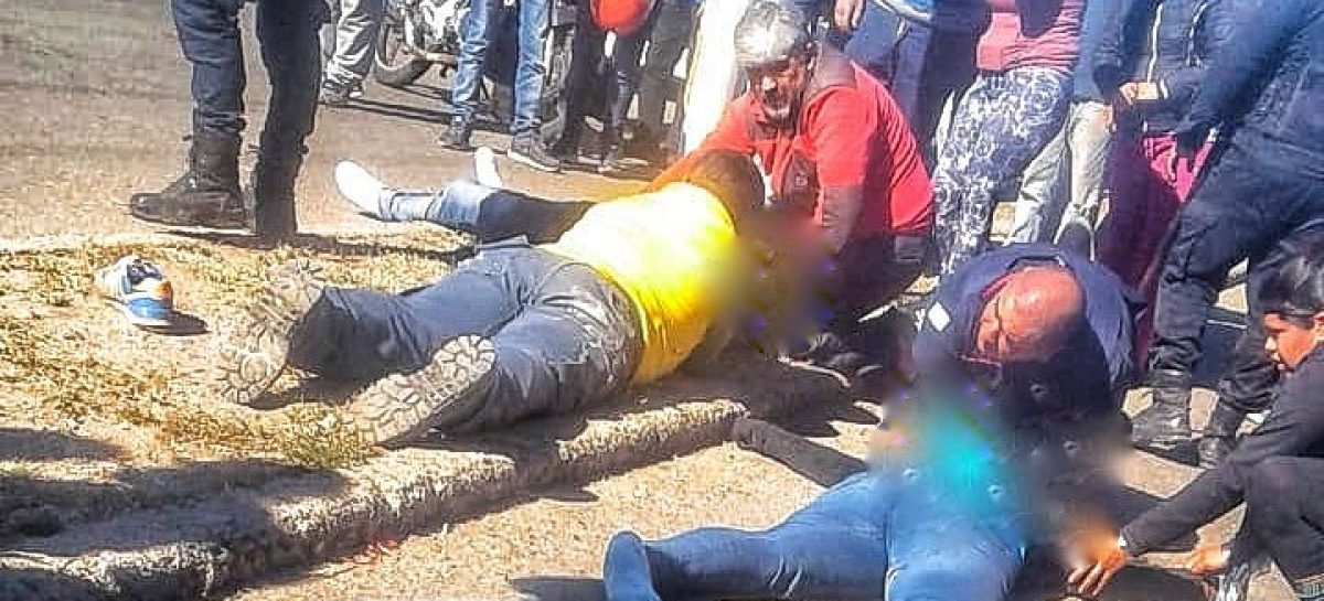 Persecución policial terminó con dos muertos en Chilecito