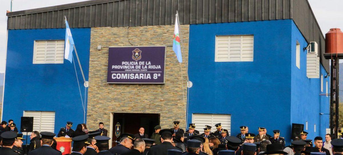 Se inauguró la Comisaría 8º y se refuerza la seguridad en zona Sur