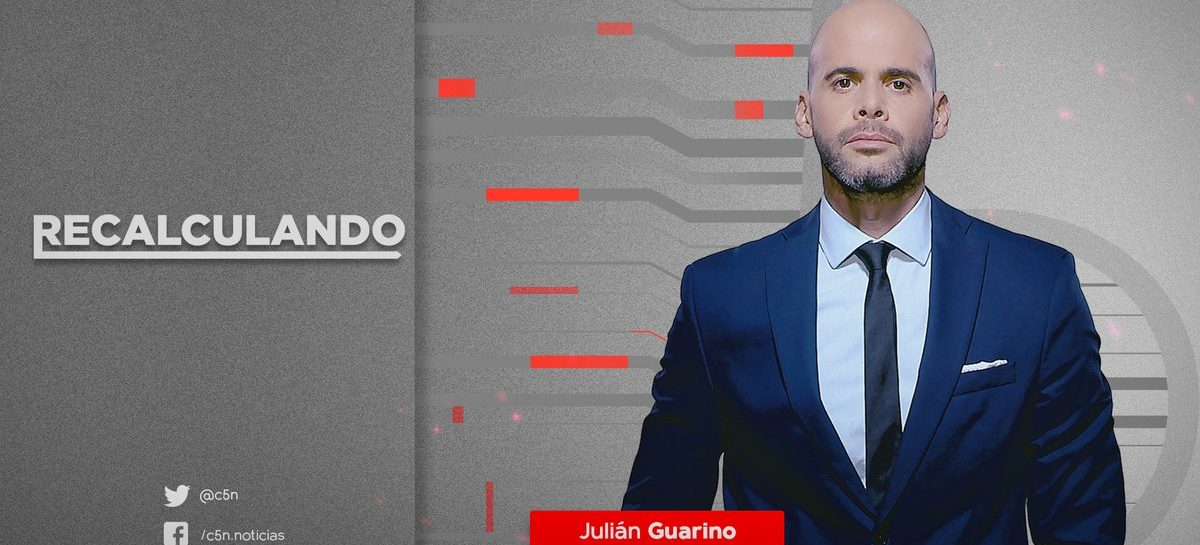 El periodista y analista económico Julián Guarino en La Rioja