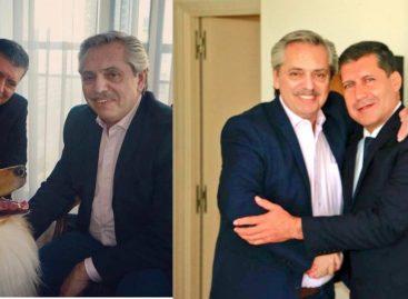 Presidenciales. Sergio Casas le ratificó su apoyo a Alberto Fernández