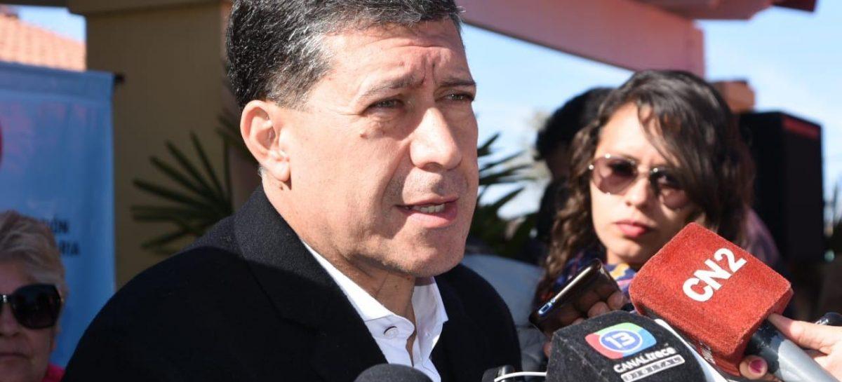 Casas negó un ofrecimiento para que sea embajador en Chile
