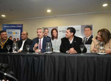 Alberto Fernández: «Macri apagó la economía y vamos a recuperarla»